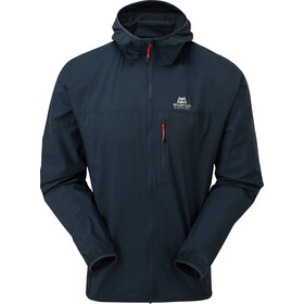 Mountain Equipment Aerofoil Chaqueta Cremallera Completa Hombre, blue nights
